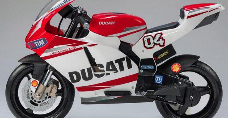 Volledig elektrische Ducati voor een schijntje