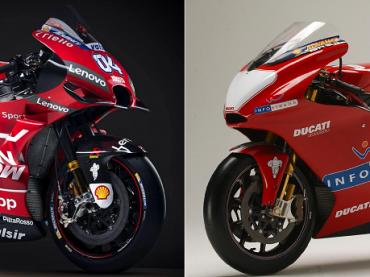 MotoGP - Van toen tot nu: Ducati
