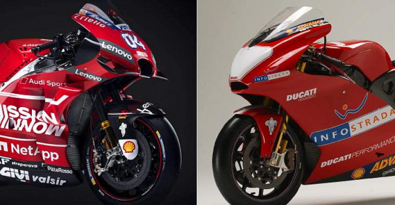 MotoGP – Van toen tot nu: Ducati
