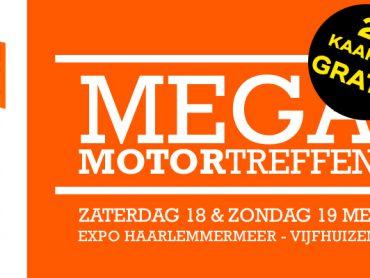 Nu tweede kaartje GRATIS Mega MotorTreffen!