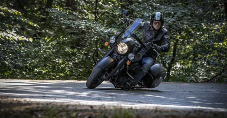 Eerste Test: Indian Springfield Dark Horse