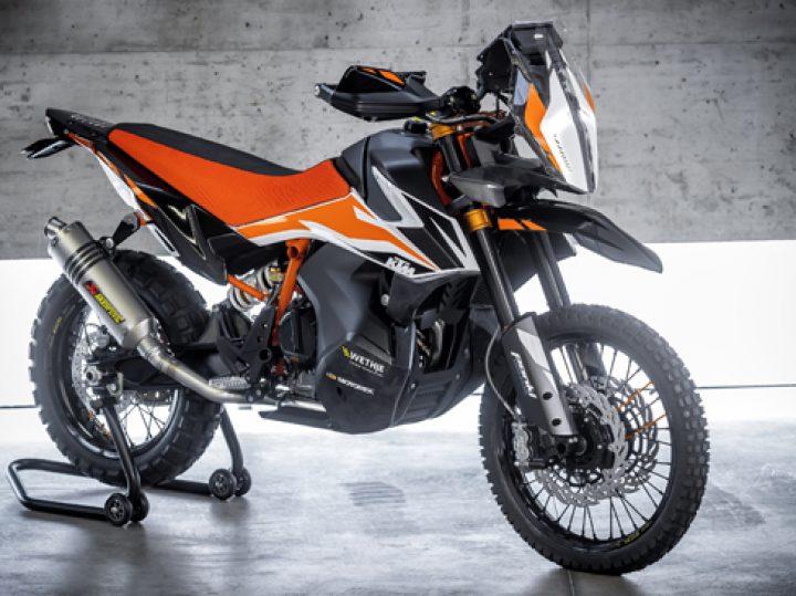EICMA: Nu echt: KTM 790 Adventure R Prototype