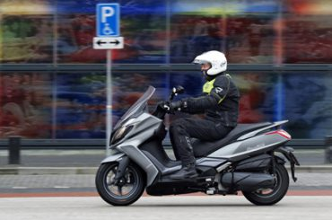Getest: Kymco DownTown 350