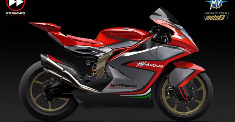 MV Agusta terug in GP's