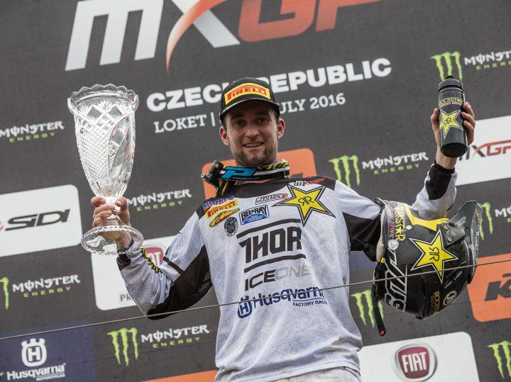 Max Nagl pakt dubbele winst in MXGP