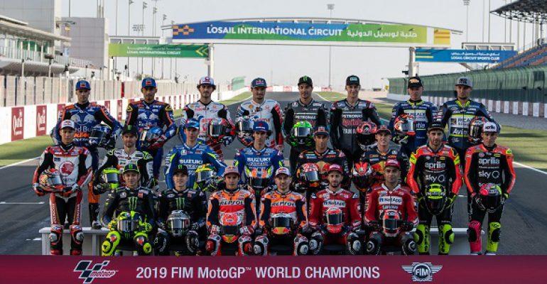Klaar voor de MotoGP