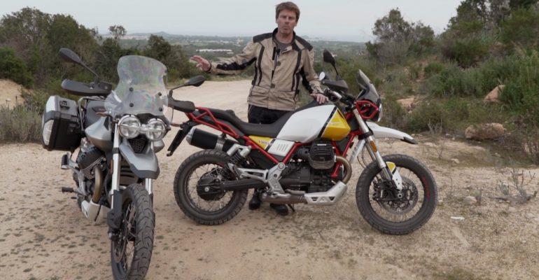 Video: Moto Guzzi V85 TT eerste test