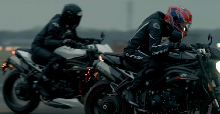 Triumph Speed Triple R en RS op komst!