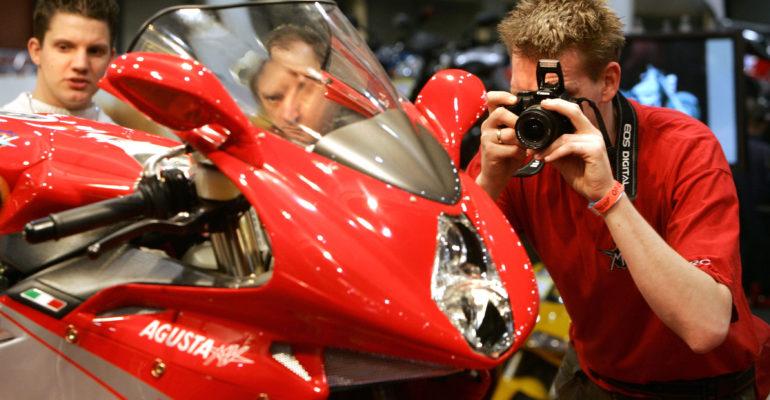 Verkoop motorfietsen daalt