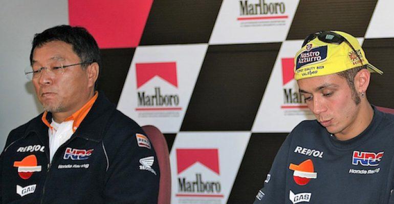 Waarom Rossi geen kampioen is voor Honda