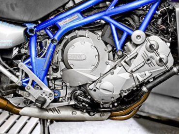 GS met zescilinder-power