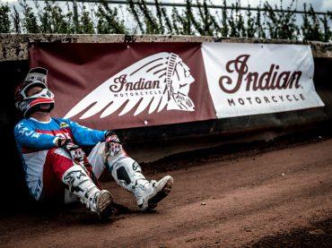 Indian sponsort Dirt Track Lelystad