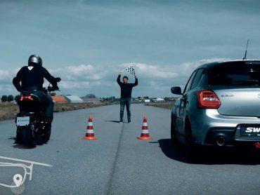 Welke Suzuki Katana wint: de motor of de auto?