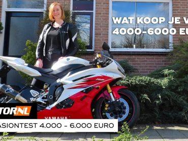 Motoren 4.000 tot 6.000 euro – Motoroccasiontest