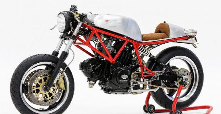 Affetto Ducati's W101 Café Racer