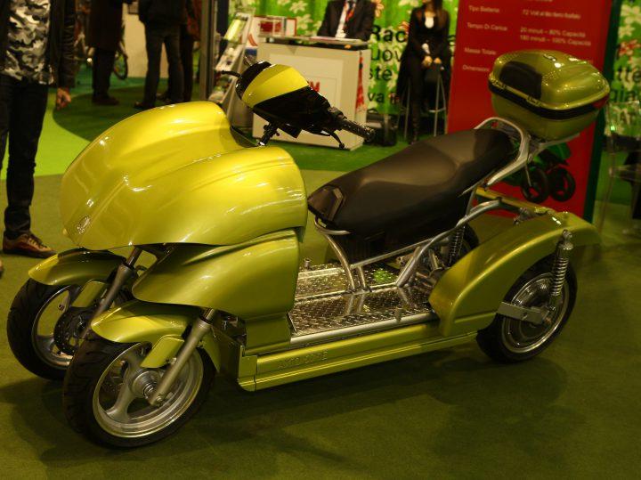EICMA > Swaygo Axio 575 Concept