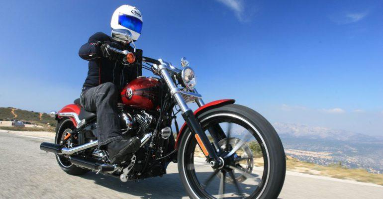 Getest > Harley-Davidson Breakout