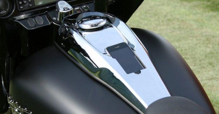 Harley iPhone-dock