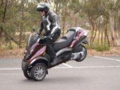 Test rijden met Vespa en Piaggio motorscooters