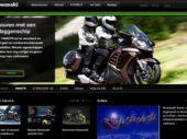 Nieuwe website Kawasaki live