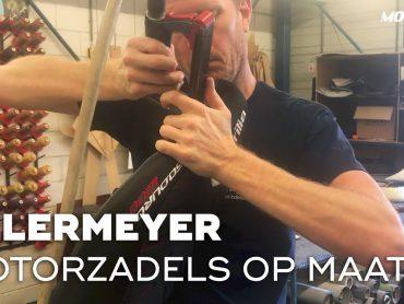 Ellermeyer, een custom motorzadel op maat gemaakt