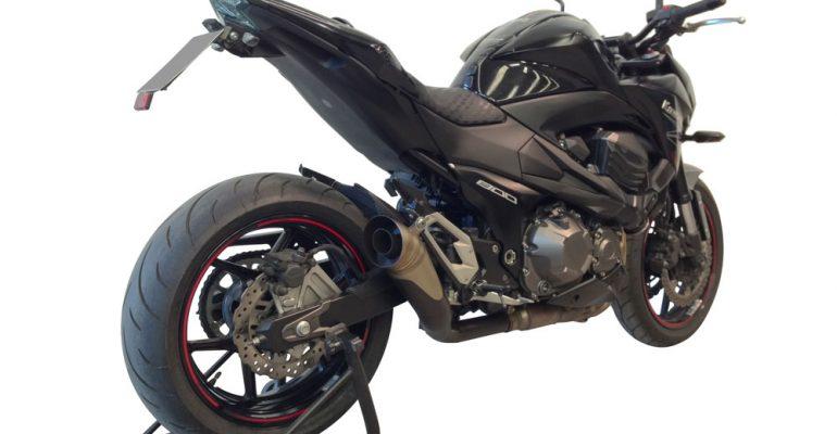 69%-lichtere G&G uitlaten voor Kawasaki Z800