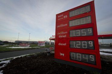 Brandstofprijzen op weg naar record