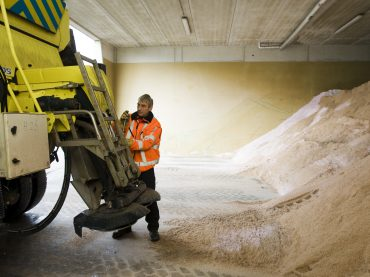 Opgelet: staart van de winter goed voor miljoenen kilo's pekel