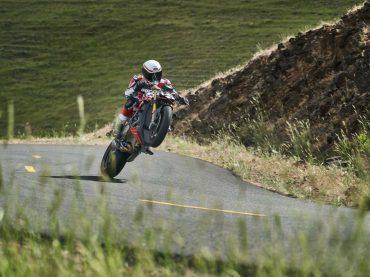 De Ducati Streetfighter V4 in actie...