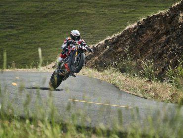 De Ducati Streetfighter V4 in actie…