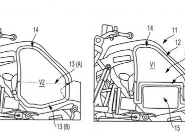 Deponeert BMW flexibele brandstoftank voor hybride motorfiets?