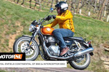 Royal Enfield Continental GT 650 & Interceptor 650 test