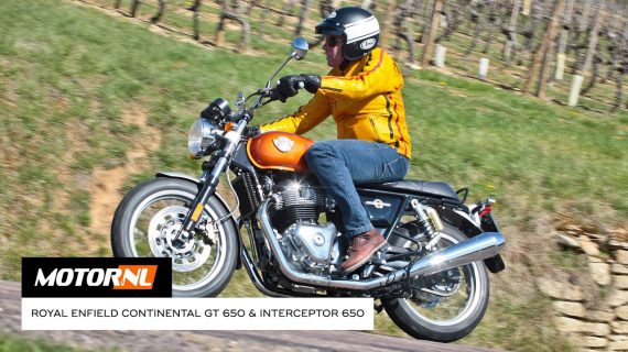 Royal Enfield Continental GT 650 & Interceptor 650 test