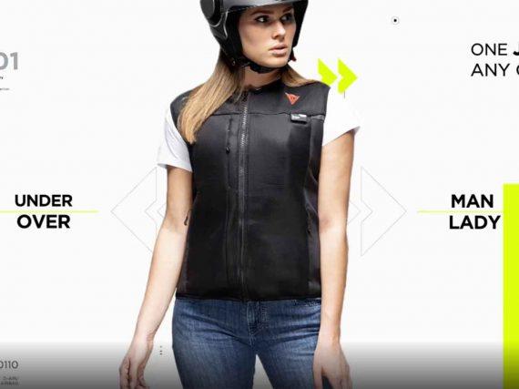 Dainese introduceert Smart Jacket dat de toekomst voorspelt!