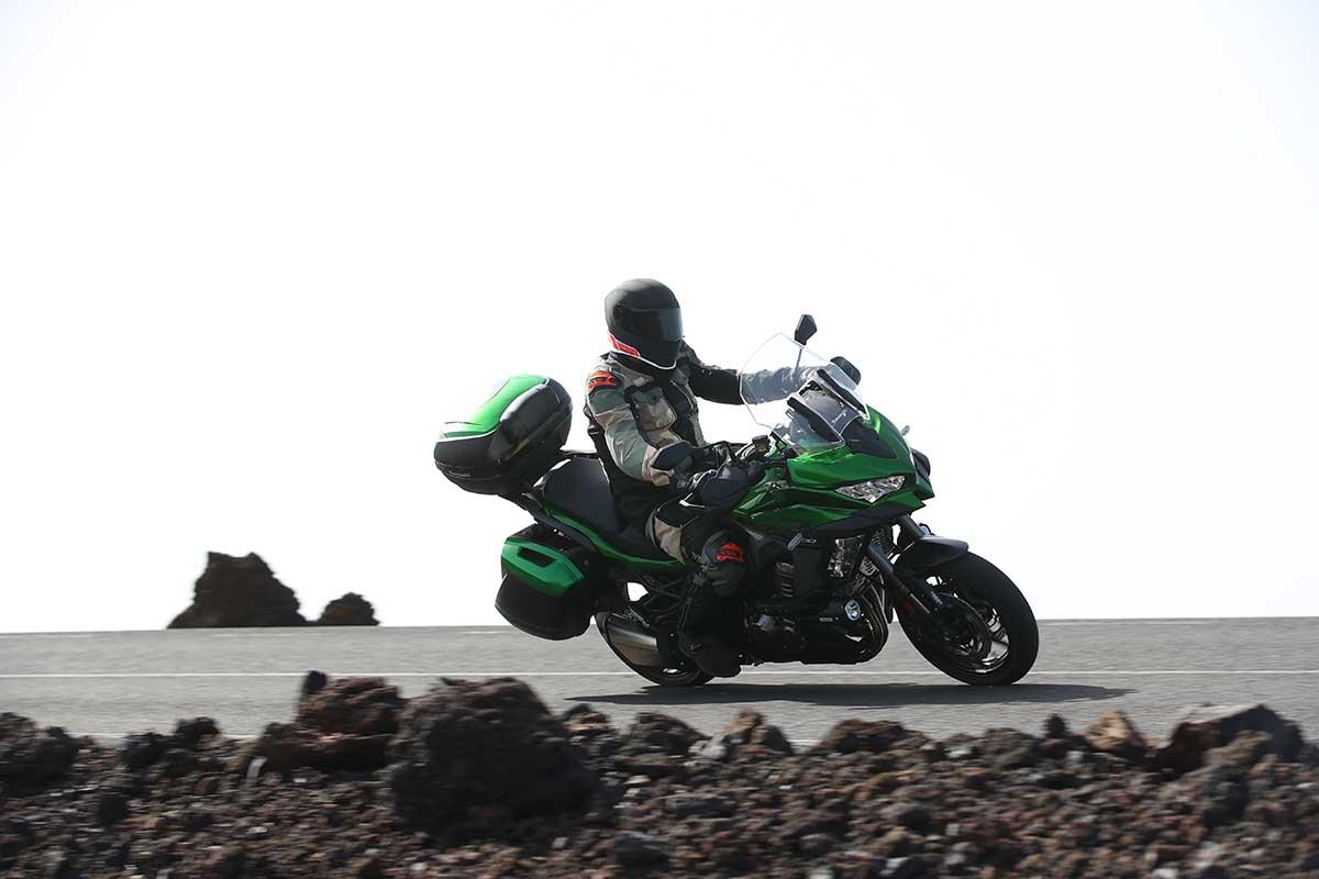 Kawasaki Versys 1000 SE Rijden