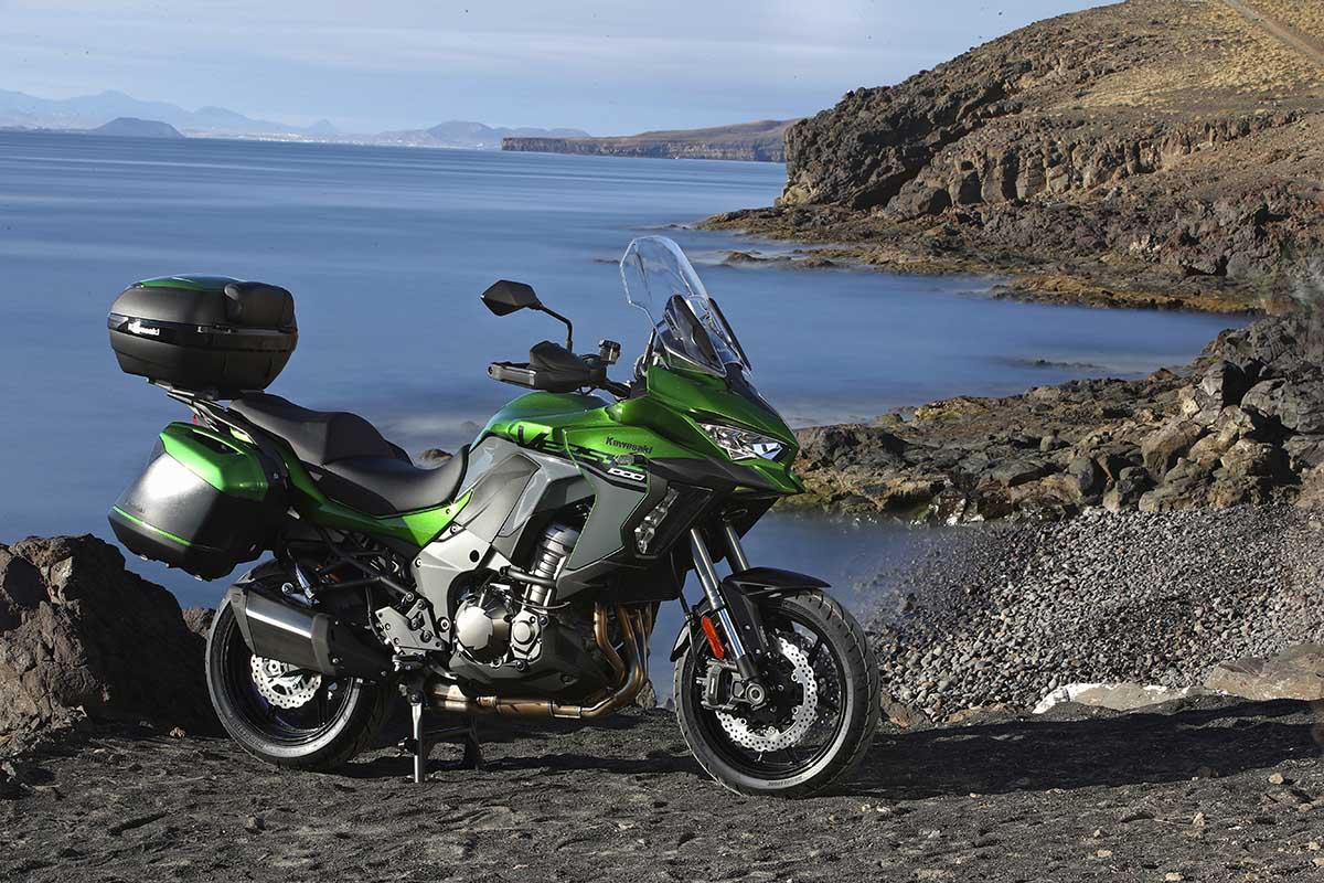 Kawasaki Versys 1000 Sfeer