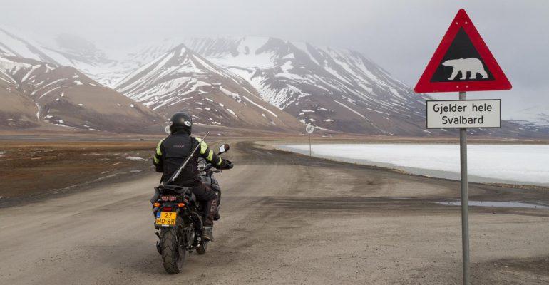 Spitsbergen: 78,2 o Noord !