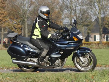Nieuwe Honda Deauville in de maak?