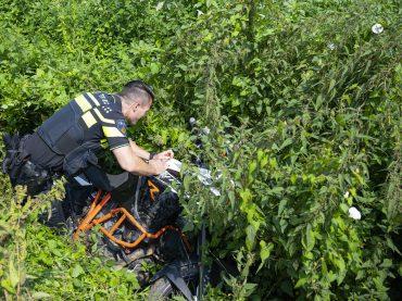 Motorrijder gewond vast onder KTM - nut SOS-systeem bewezen