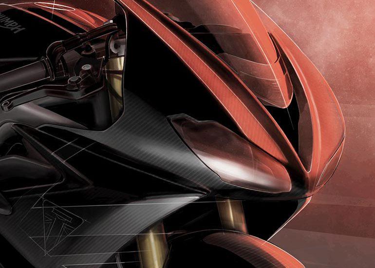 Triumph Daytona 765 Moto2 Replica