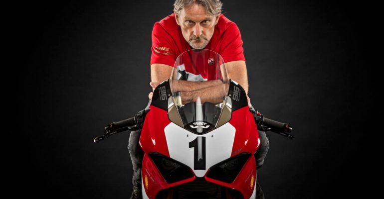 Ducati viert 25 jaar 916 met een speciale V4