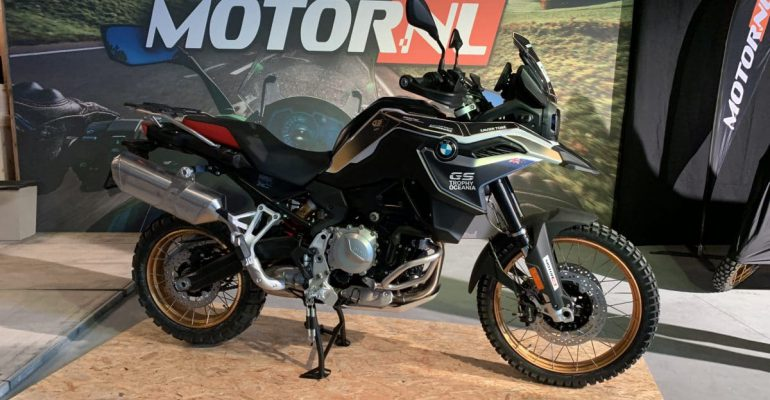 Dit is de BMW F850GS in 2020 Trophy-kleurstelling