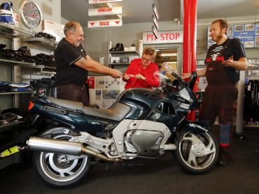 Toevalstreffer: Yamaha GTS1000 bij Ott Motoren