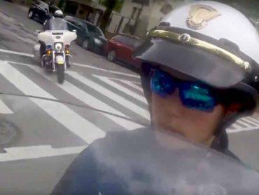 Lauren Gunawan, secret agent in Trumps motorcade