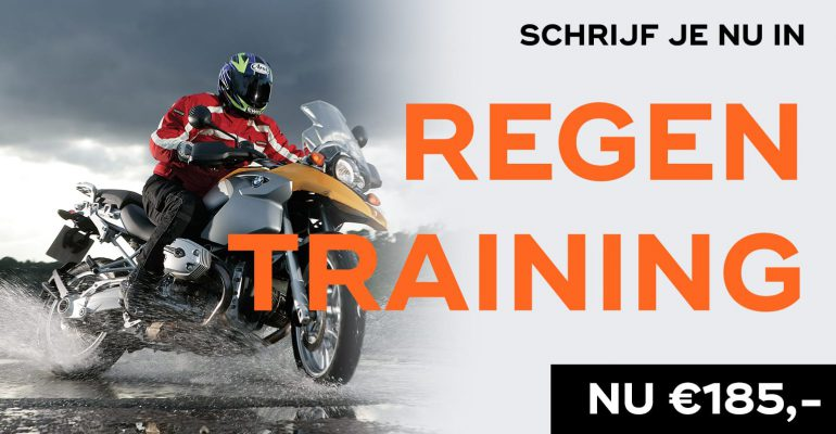 MotorNL Regentraining (On-Hold tot 1 juni – Mail deelnemers volgt)
