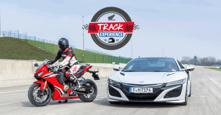 Honda Track Experience: vrijdag 9 augustus op Mettet