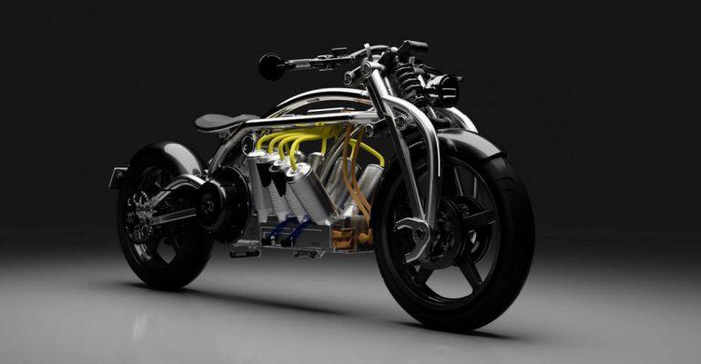 Peperdure 'V8' van Curtiss Motorcycles