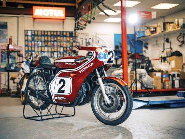 Lemstra's Honda 750 van Dick Mann