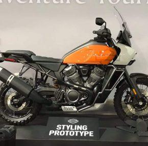 Harley-Davidson Pan Americana gespot