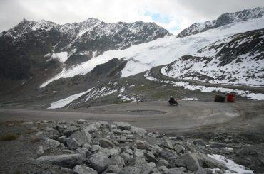 Ötztaler Gletscherstrasse: de hoogste op 2.829 meter